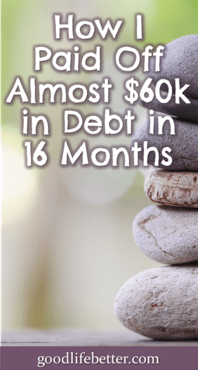 It was a challenge paying off so much in such a short time but it was so worth it! #DebtFree #CrushDebt #GoodLifeBetter