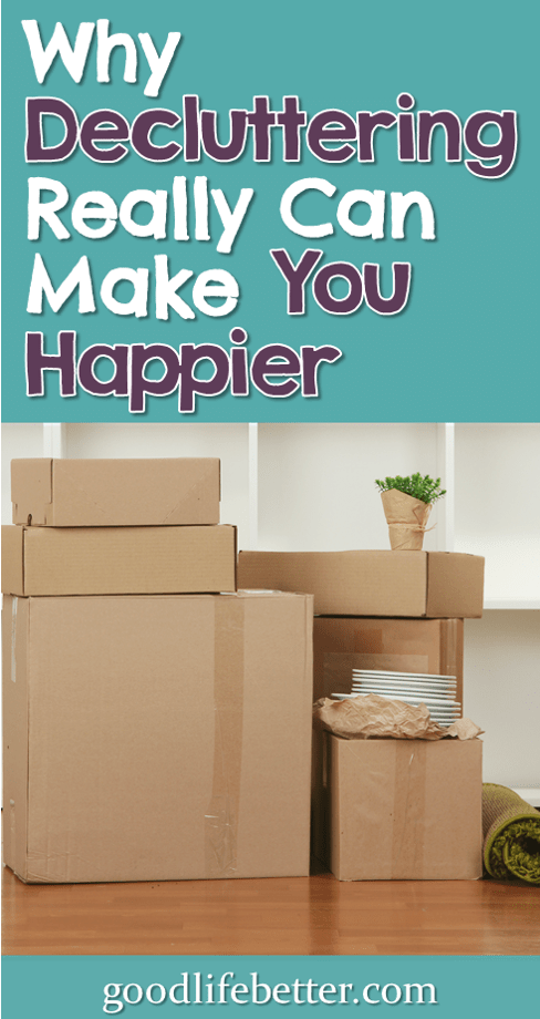 Clearing out an enormous amount of clutter has increased my happiness and decreased my anxiety.  #Decluttering #Simplyfing #FindingCalm #Minimalism #GoodLifeBetter