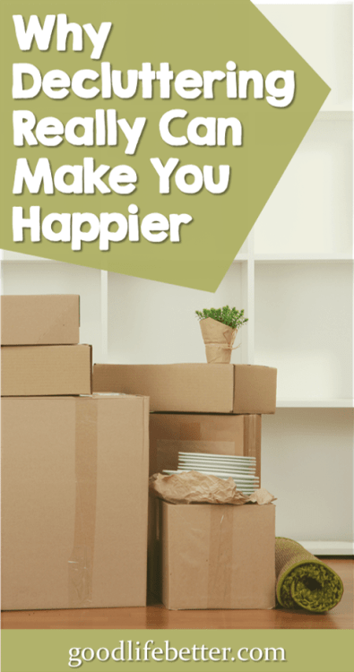 Clearing out an enormous amount of stuff has increased my happiness and decreased my anxiety. Decluttering made my home more peaceful and welcoming! #Decluttering #Simplyfing #FindingCalm #Minimalism #GoodLifeBetter
