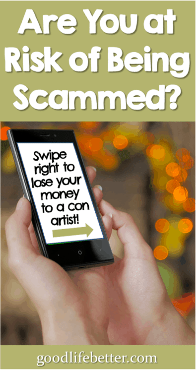Woman holding a cell phone Scams Money Scammers