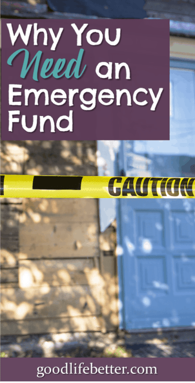 Having money in an emergency fund will never be worse than not having money in an emergency. I'm working on building my emergency fund, stashing it in a high interest savings account so I can access it when I need it. #EmergencyFund #SavingforEmergencies #GoodLifeBetter