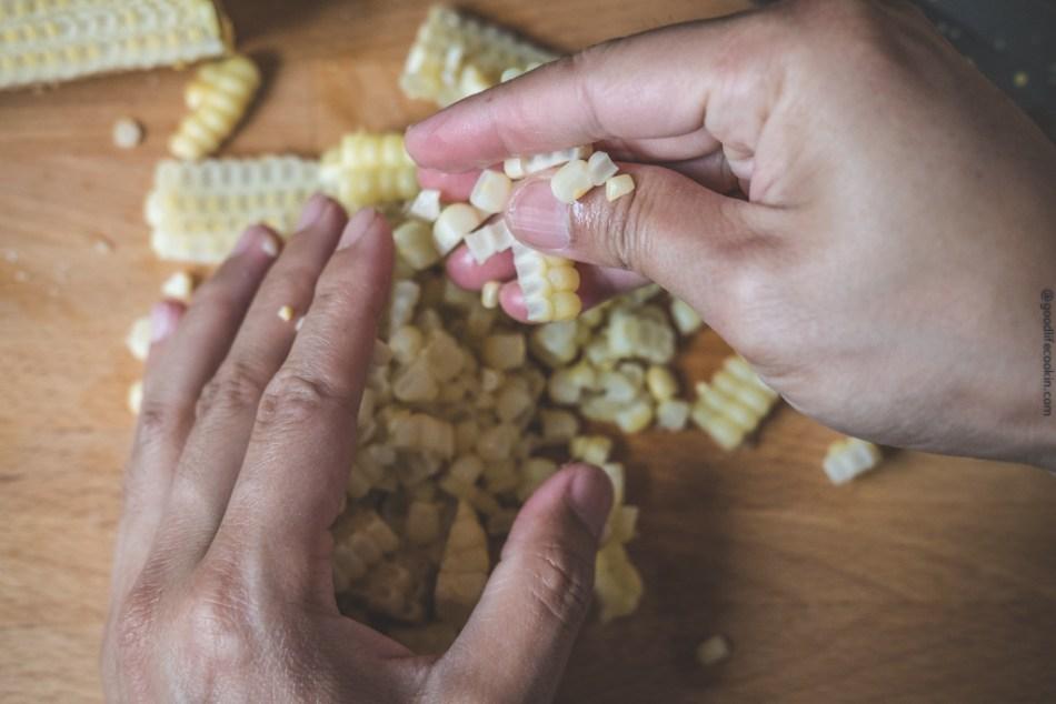 Break apart corn