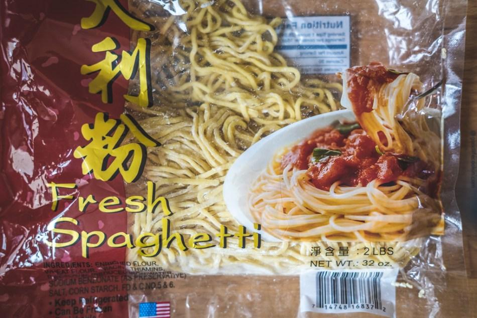Fresh Spaghetti