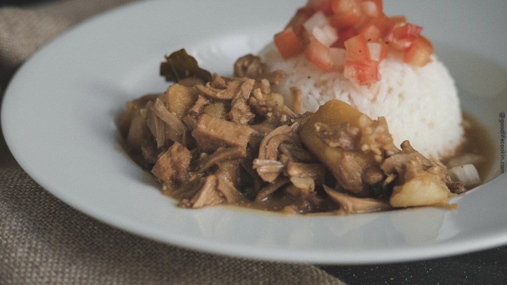 Jackfruit Adobo