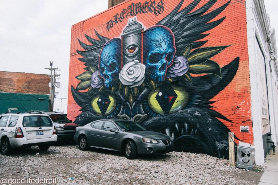 Murals in the Market Detroit