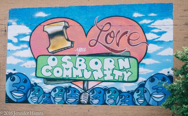Detroit's Osborn Neighborhood Mural