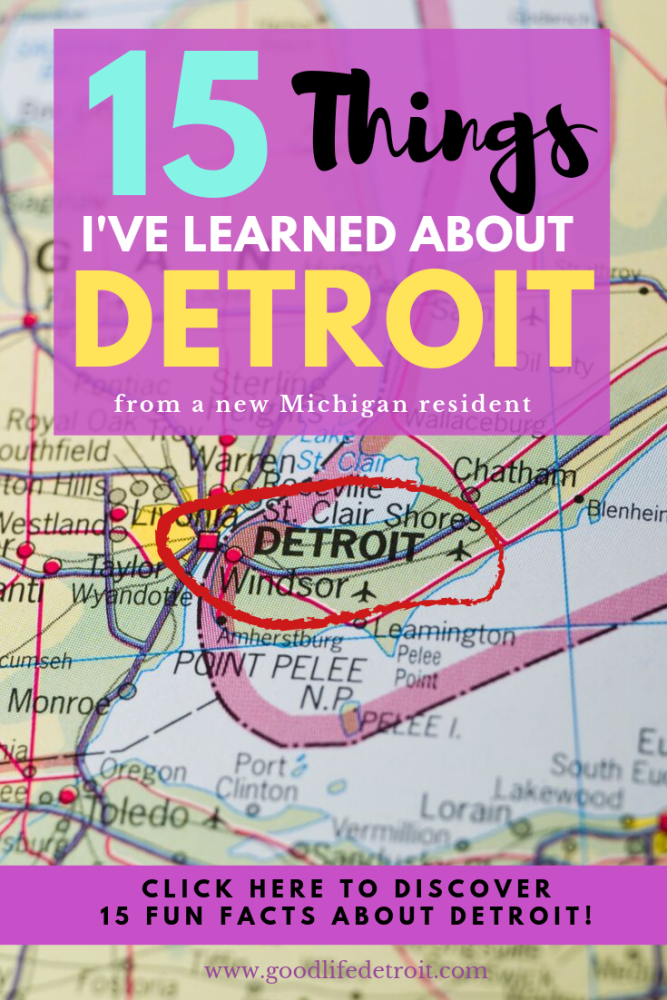 15 Fun Facts About Detroit