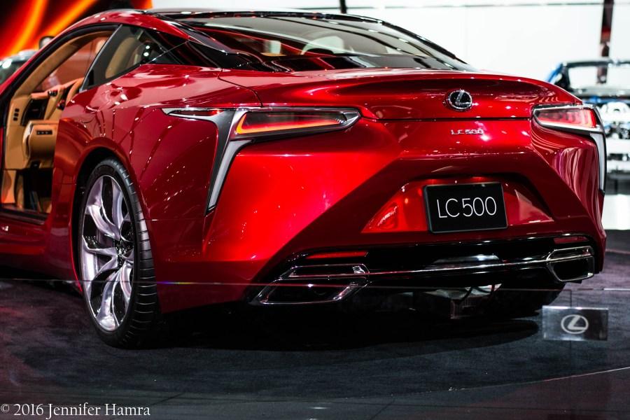 Lexus at NAIAS 2016