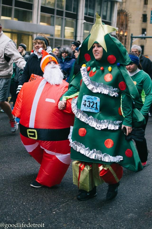 Santa and Christmas Costume