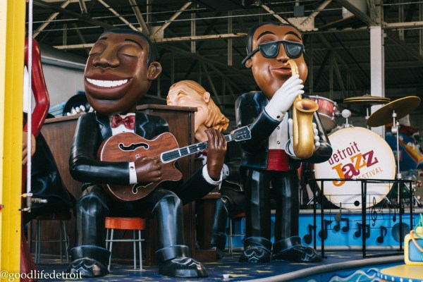 Detroit Jazz Festival Float