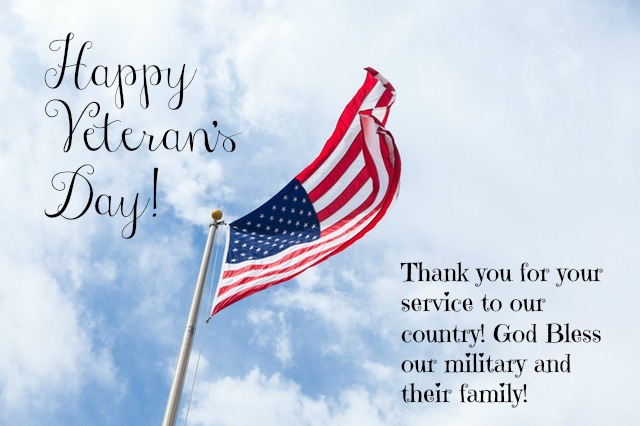 Happy Veterans Day from Good Life Detroit!