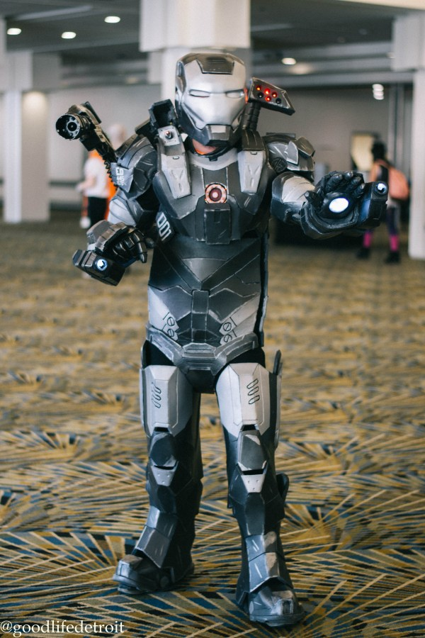 War Machine Youmacon Detroit