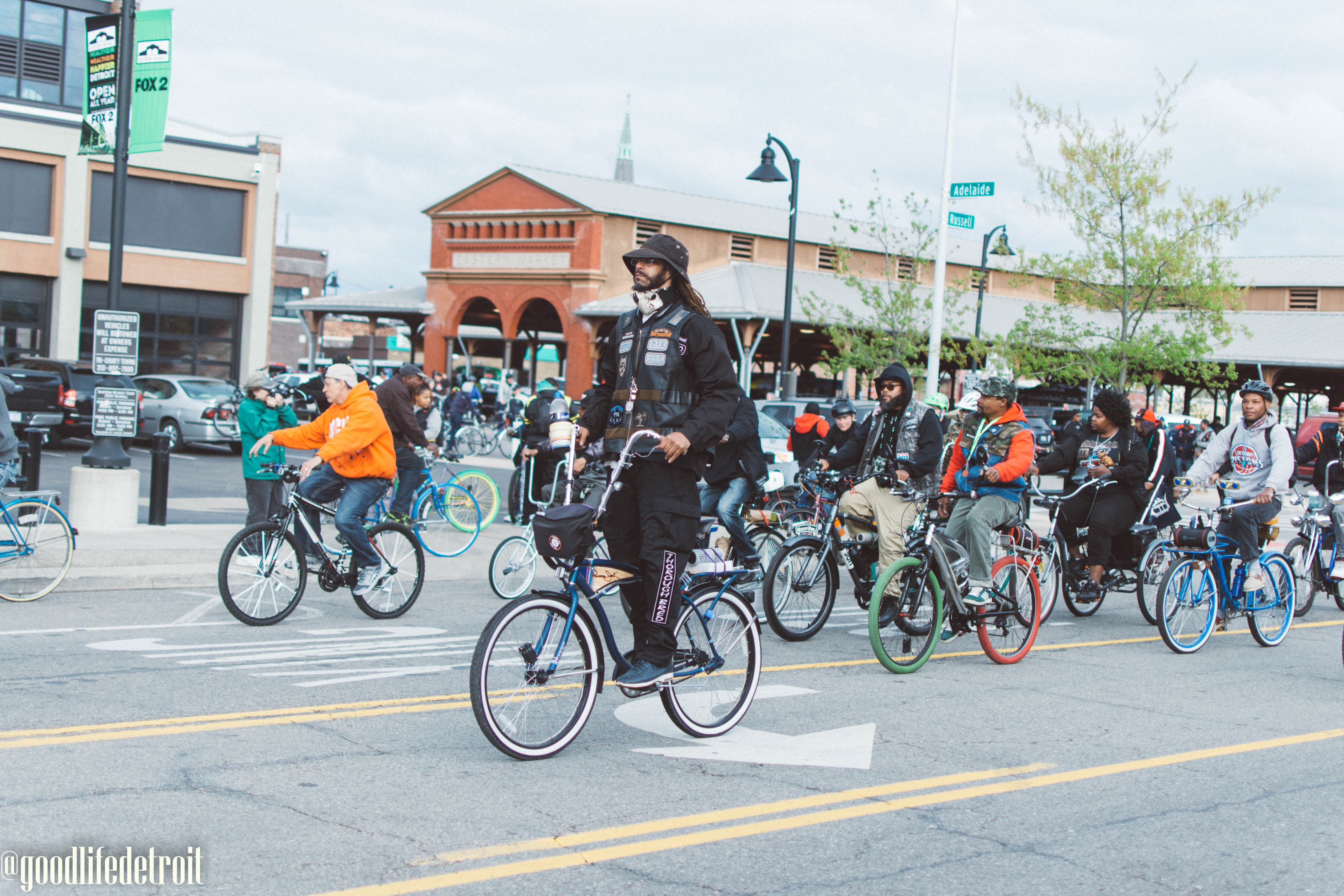 Snapshots Around Town: Slow Roll Detroit Opening Day 2017