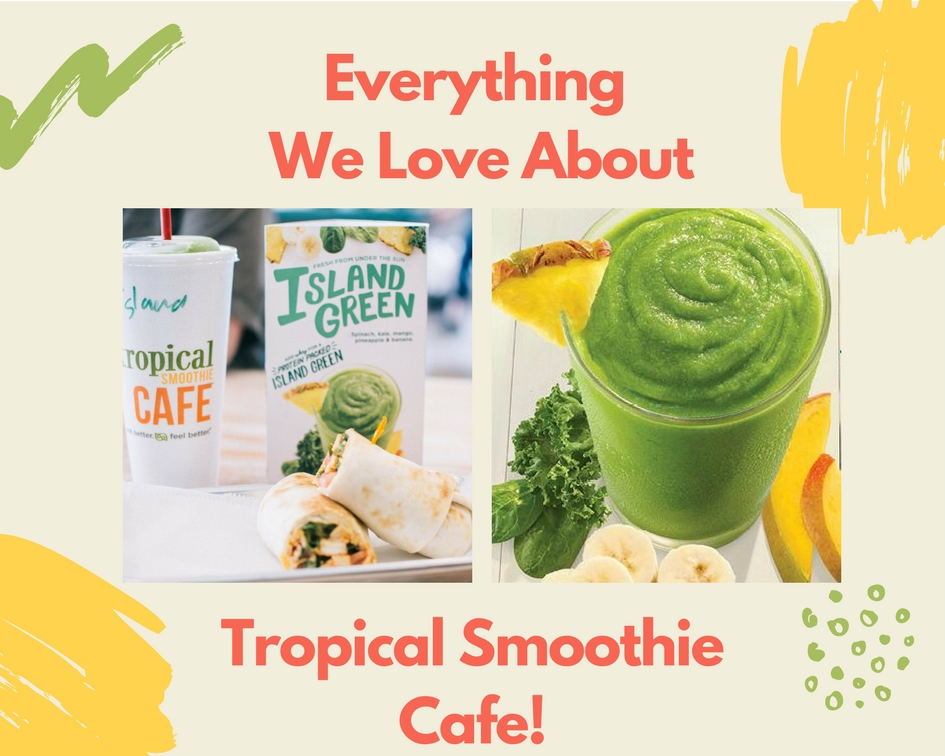Tropical Smoothie Cafe Offers Delicious & Healthy Smoothies