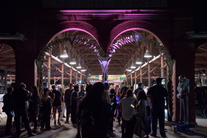Detroit Design Festival's Community Events Eastern Market After Dark