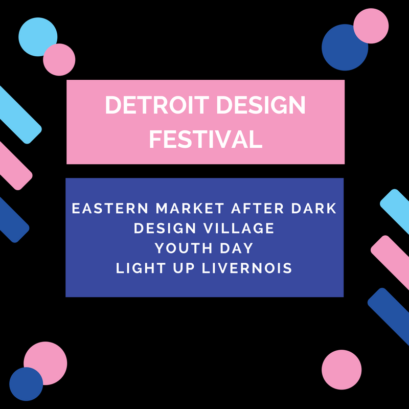 Celebrate Design and Creativity with Detroit Design Festival's Community Events