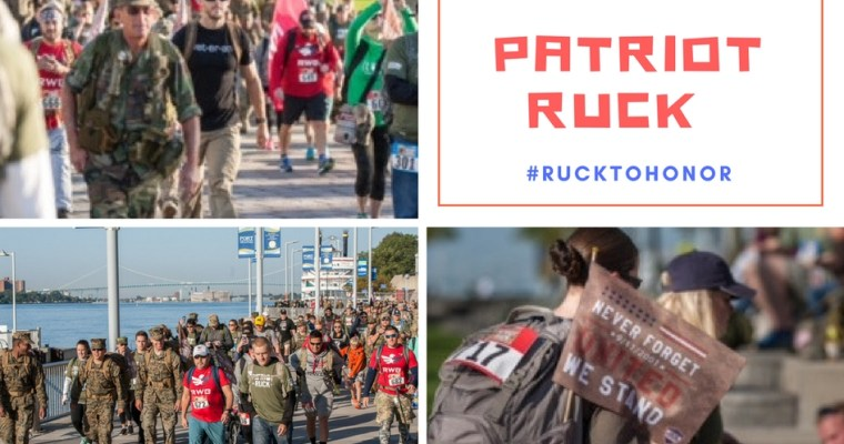 Wins for Warriors Foundation's Patriot Ruck #rucktohonor