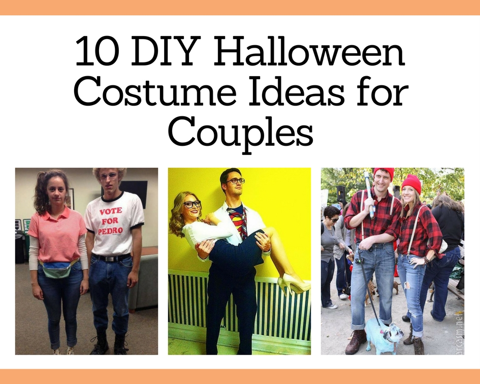 10 DIY Halloween Costume Ideas for Couples