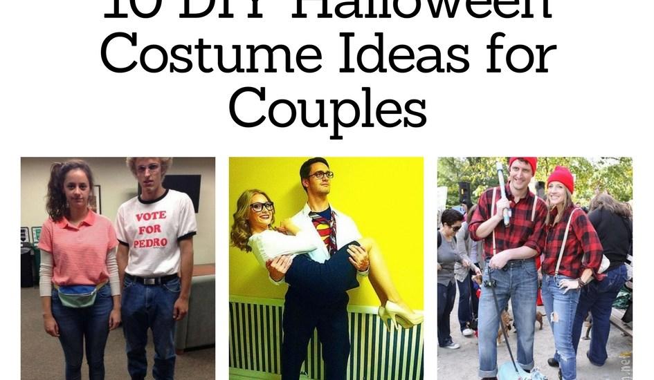 10 DIY Halloween Costume Ideas for Couples