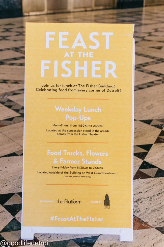 Feast at the Fisher