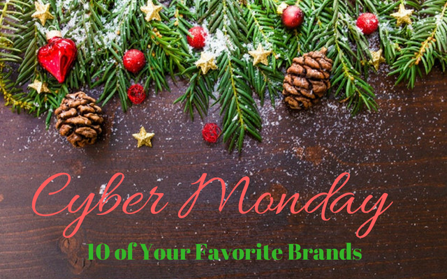 10 Brands Offering Really Great Cyber Monday Deals