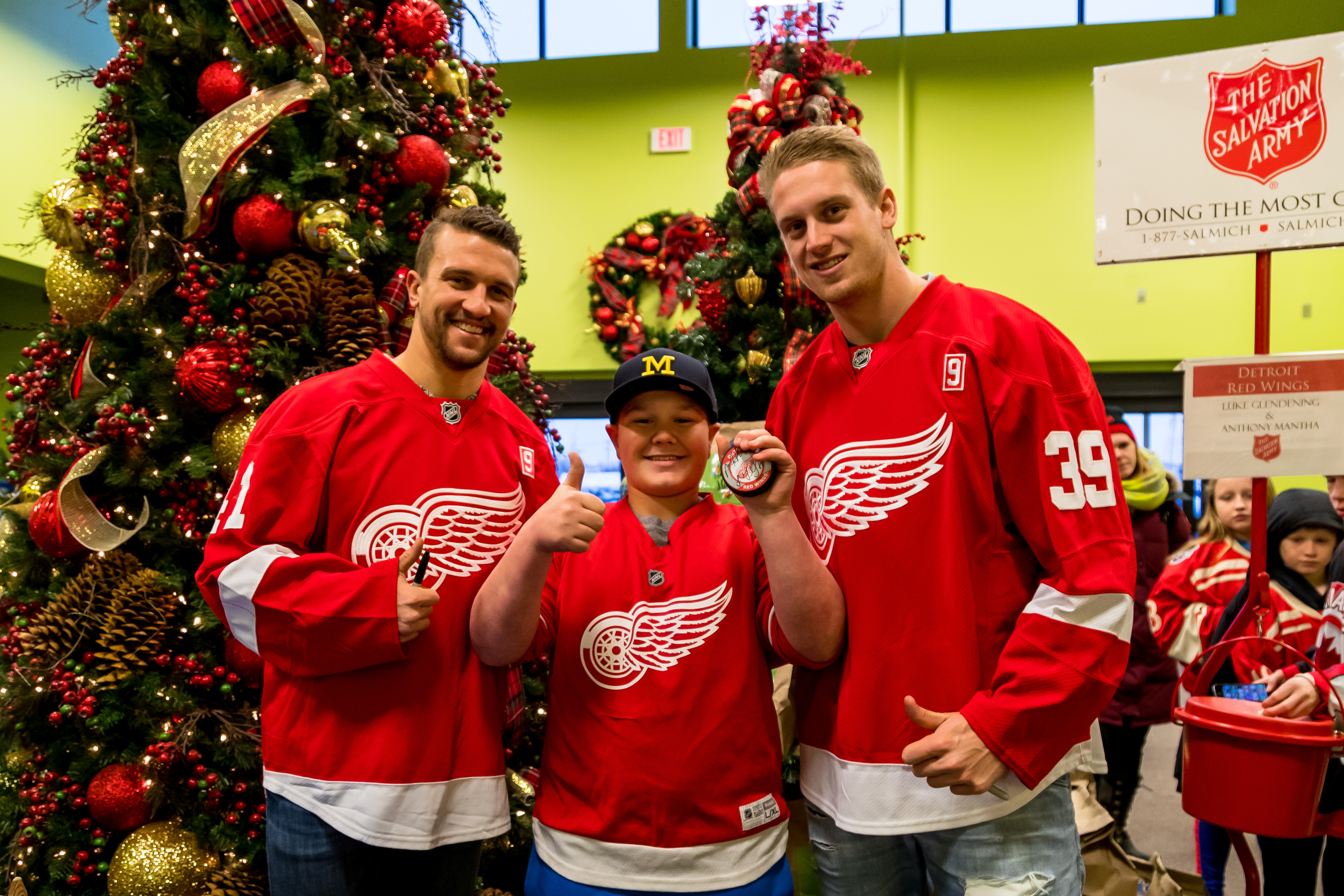 Red Wings for Red Kettles is Friday, December 8th!