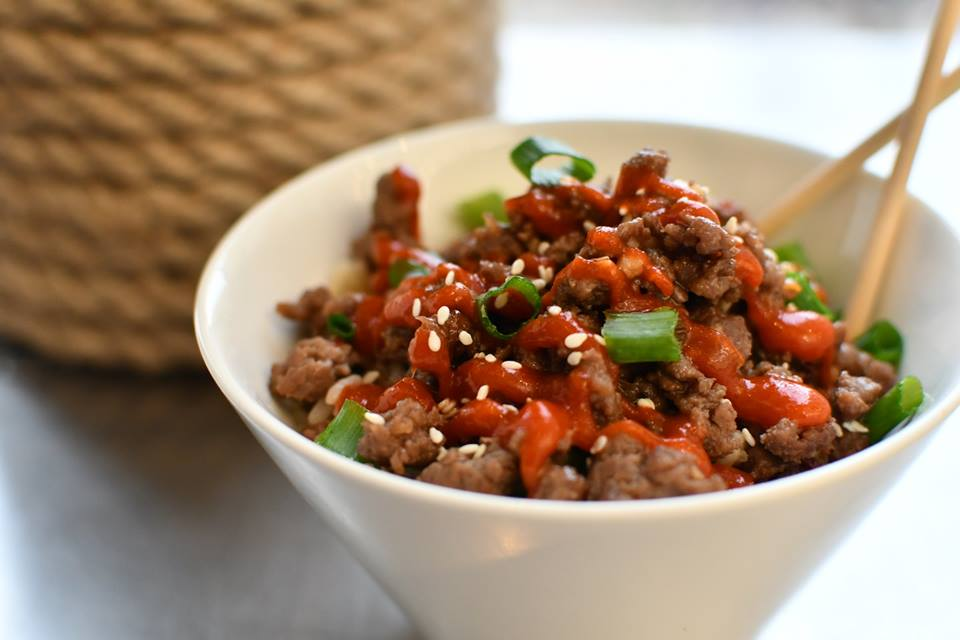 Korean Ground Beef Rice Bowl (Only Three Cooking Instructions!)