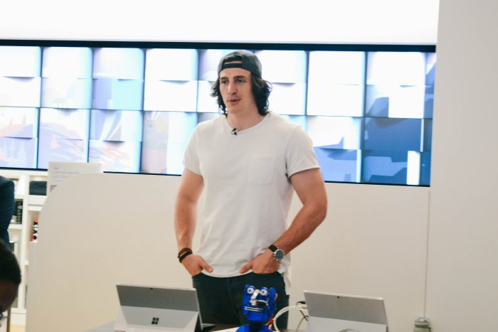 Detroit Lions' Tight End Luke Willson