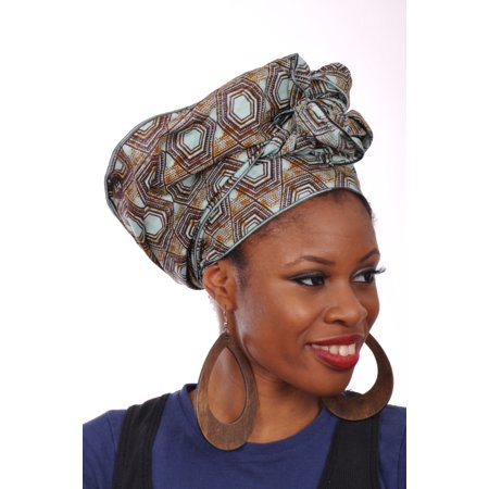 Dupsie's African Clothing sells a variety of African headwraps, African fabric, and more!