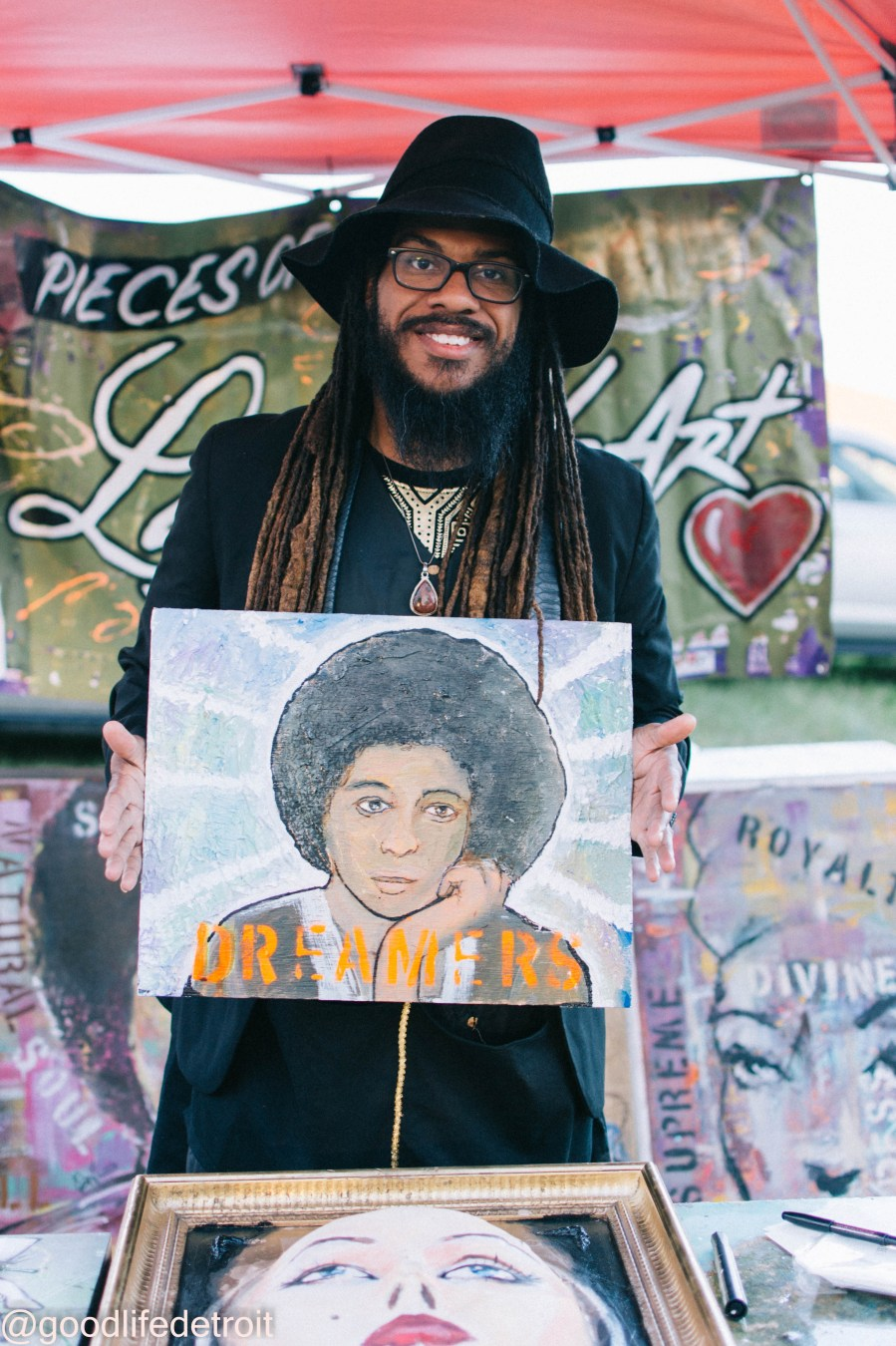 Errin Whitaker, Detroit Artist