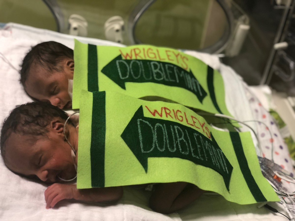 Hutzel Women's Hospital Dresses Up Newborn Babies in the NICU in the Cutest Halloween Costumes