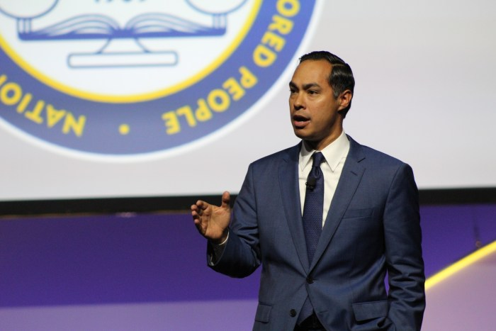 Former Secretary of Housing and Urban Development Julián Castro