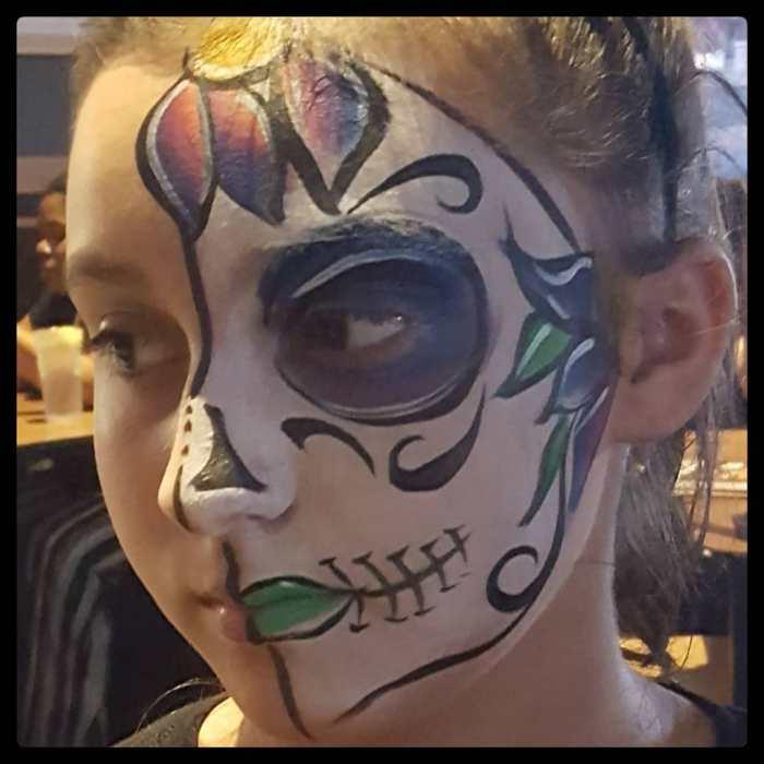 kids sugar skull