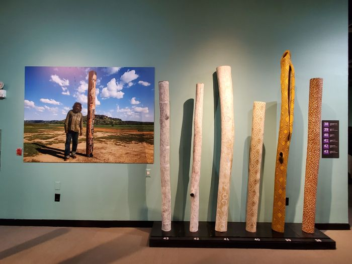 Contemporary Aboriginal Australian Memorial Poles