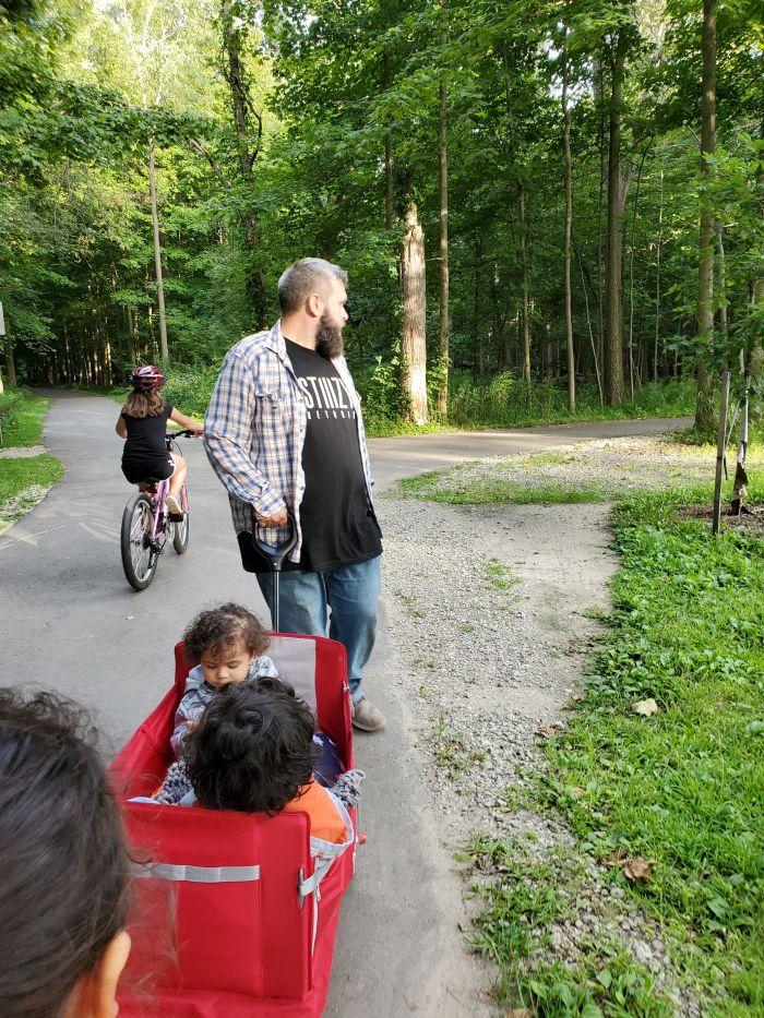 Michigan walking trails