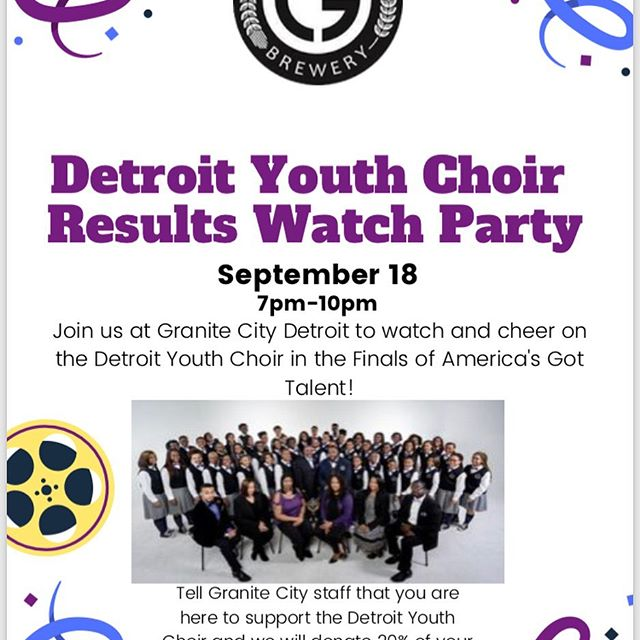 Detroit Youth Choir benefit