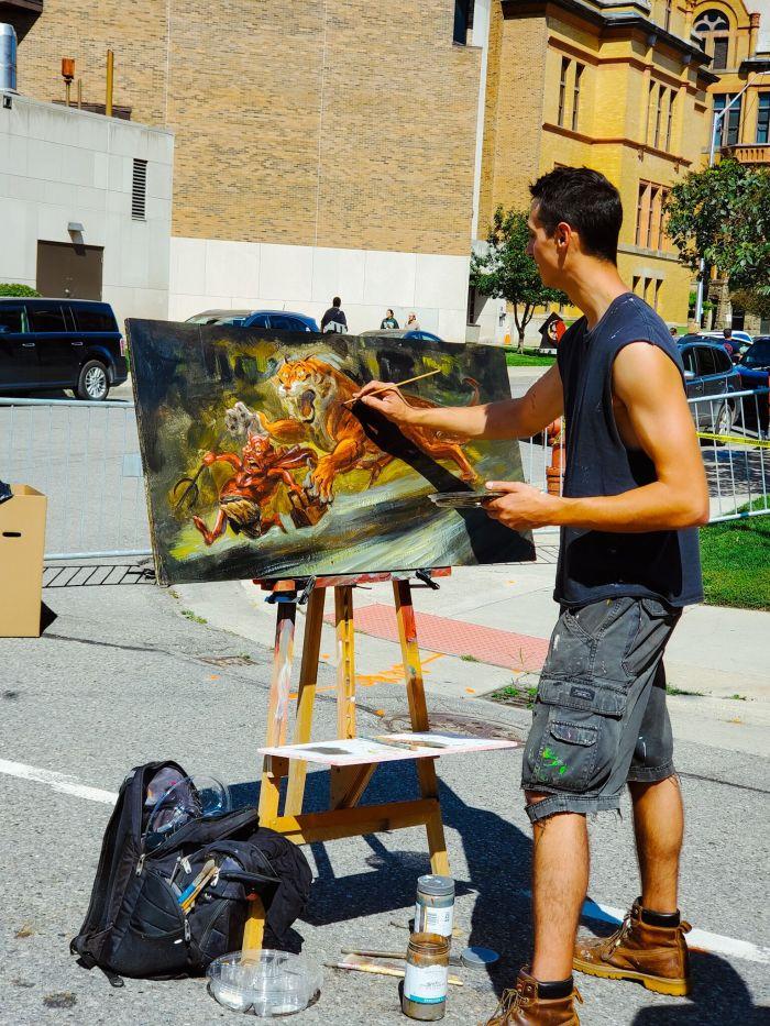 Ryan Wheeler Detroit artist