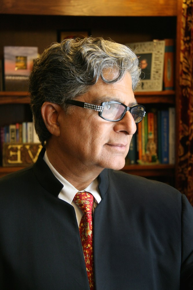 Deepak Chopra celebrity interview
