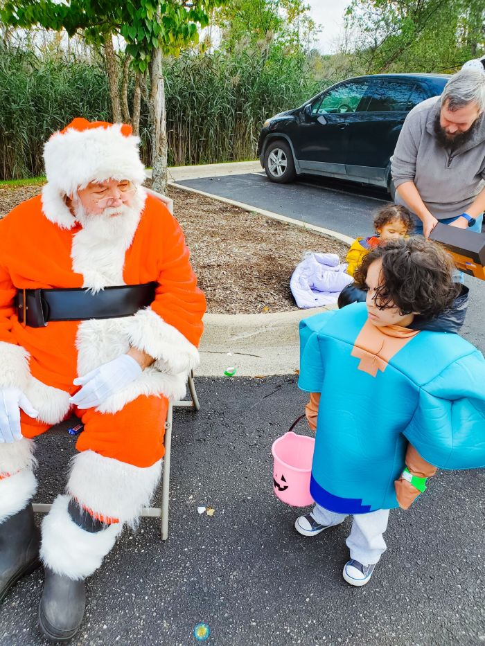 trunk or treat Christmas