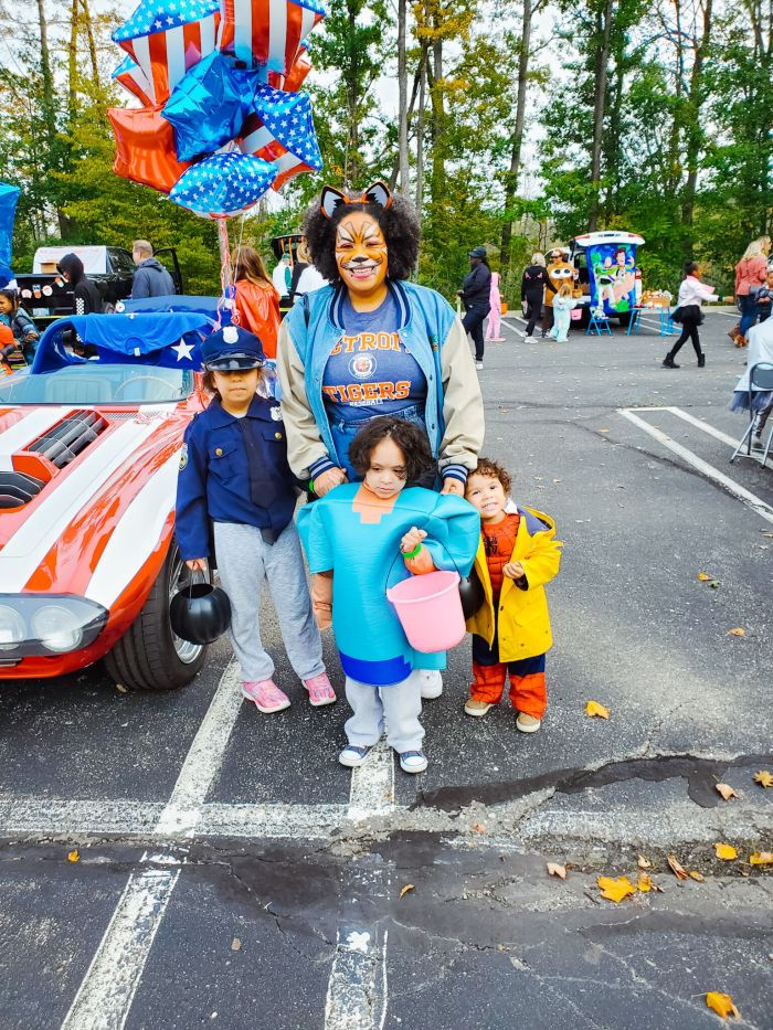 Detroit trunk or treat