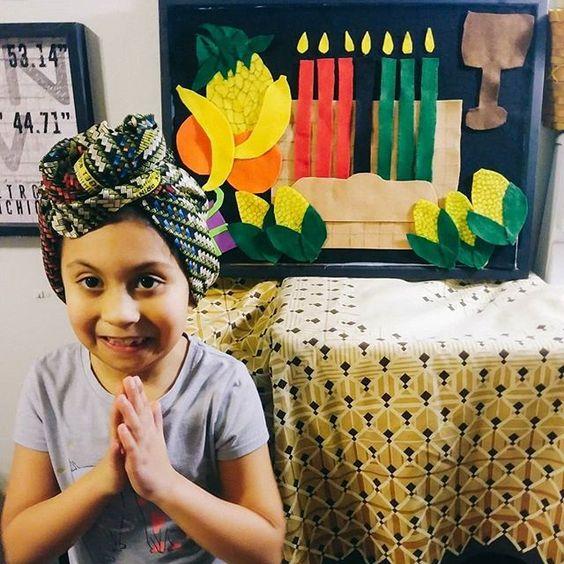 KWANZAA CRAFT IDEA FOR KIDS