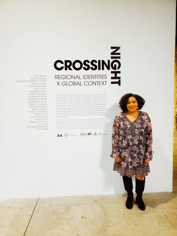 Crossing Night art exhibit MOCAD