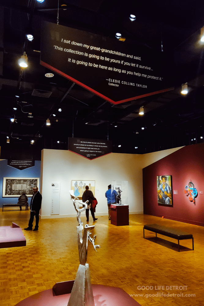 Detroit Institute of Arts in Detroit, Michigan | African American Art Exhibit