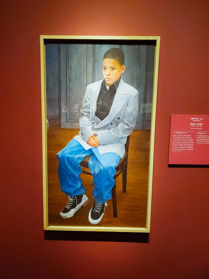 "African American Art: ""Little Paul"" (1995) by Robert L. Tomlin"