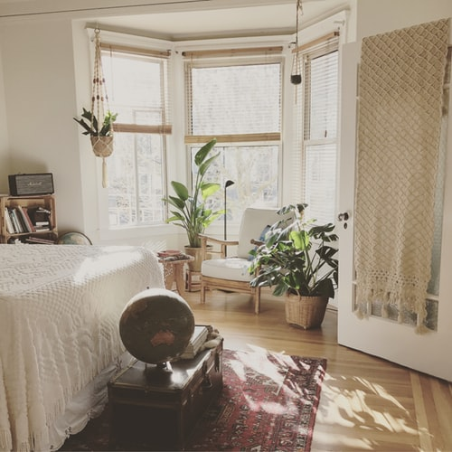 Four Spring Home Decor Trends. Add houseplants to your home for an uplifting feeling!