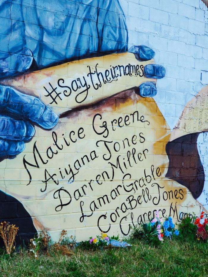 Malice Green mural Sydney G. James Detroit