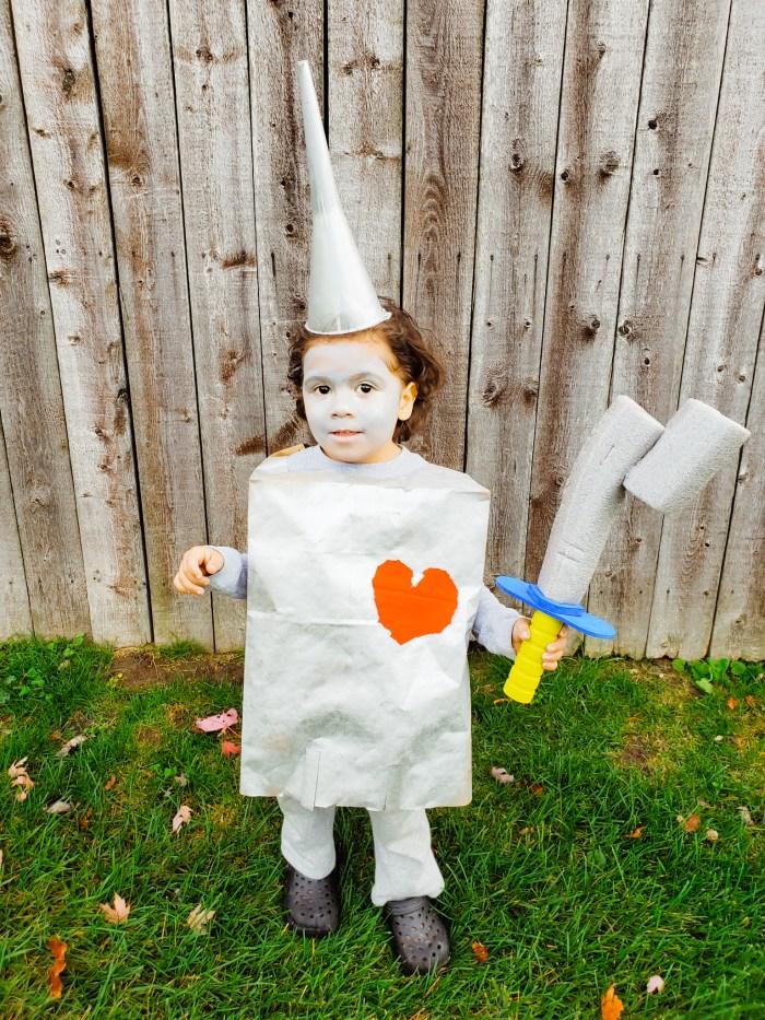 Tin Man Halloween Costume Idea