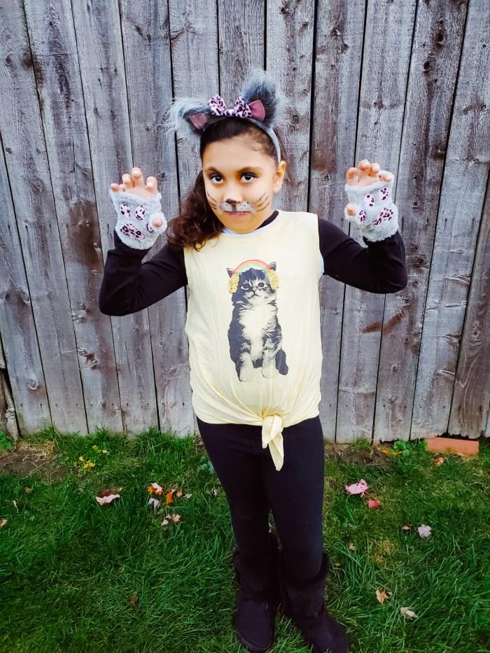 DIY Cat Halloween Costume