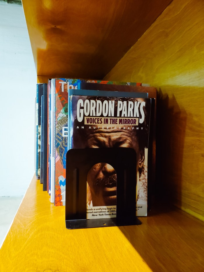Gordon Parks autobiography at the Black Art Library in Detroit