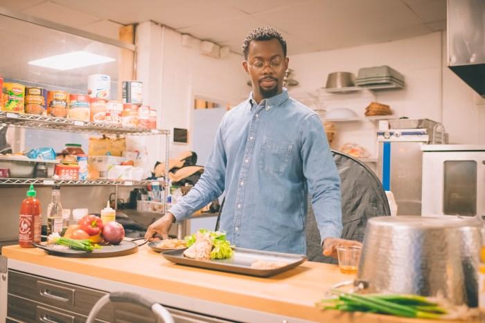 Phi Beta Sigma's Detroit Restaurant Weekend Begins February 25th (Image of Detroit Black Restaurant Week Founder Kwaku Osei-Bonsu in a restaurant kitchen.)